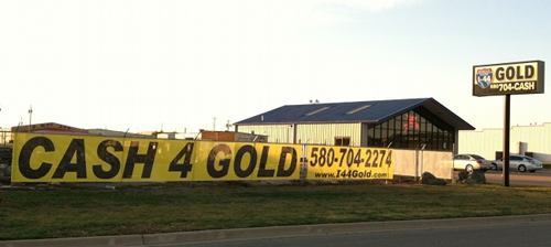 gold buyers office in lawton